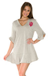 Indiana Hoosiers Syd Ruffle Dress