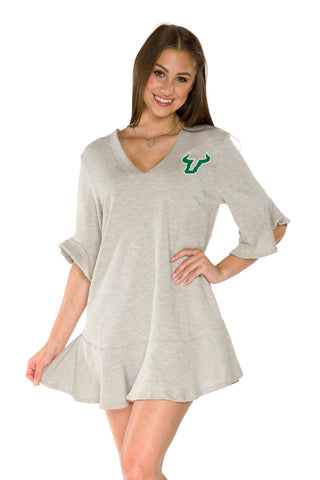 USF Bulls Syd Ruffle Dress