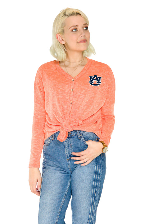 Auburn Tigers Hazel Button Front