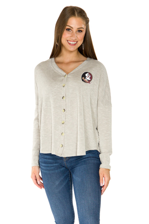 Florida State Seminoles Hazel Button Front