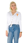 Tennessee Volunteers Hazel Button Front