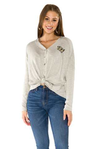 UCF Knights Hazel Button Front