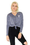 Yale Bulldogs Hazel Button Front