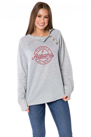 Alabama Crimson Tide Mariah Button Pullover