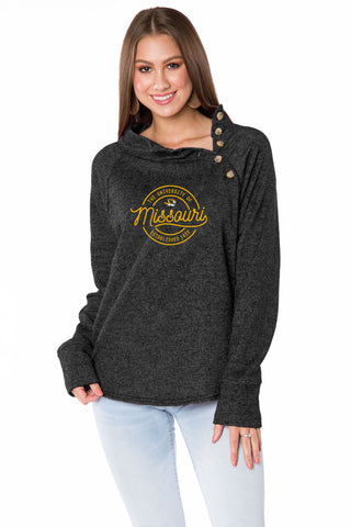 Missouri Tigers Mariah Button Pullover