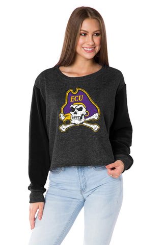 ECU Pirates Elana Crop
