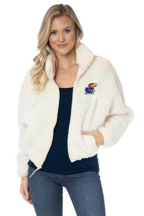 Kansas Jayhawks Paige Plush Jacket