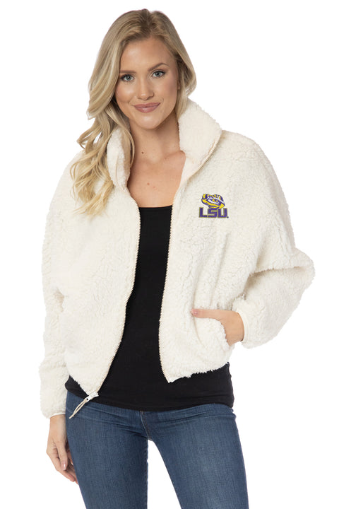 LSU Tigers Paige Plush Jacket