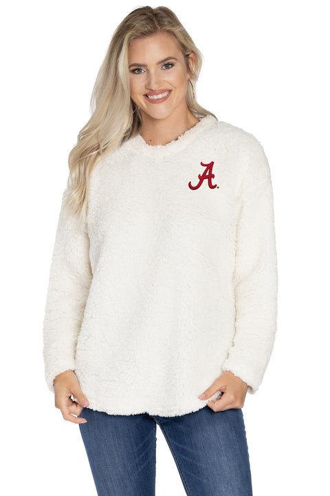 Alabama Crimson Tide Andrea Plush Pullover