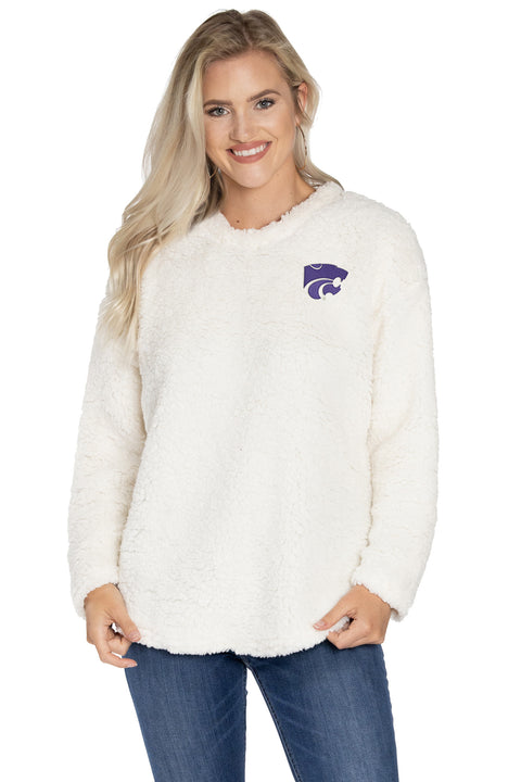 Kansas State Wildcats Andrea Plush Pullover