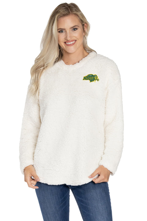 North Dakota State Bison Andrea Plush Pullover