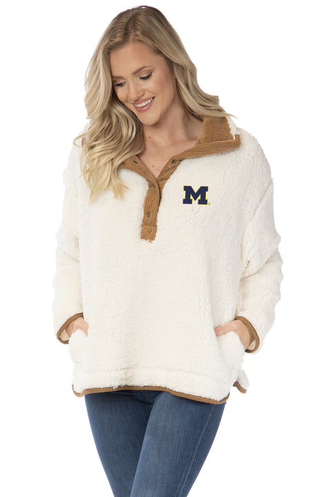 Michigan Wolverines Destiny Pullover