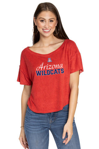 Arizona Wildcats April Velour Tee