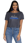 Kansas Jayhawks April Velour Tee
