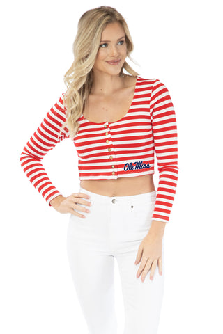 Ole Miss Jayme Striped Crop