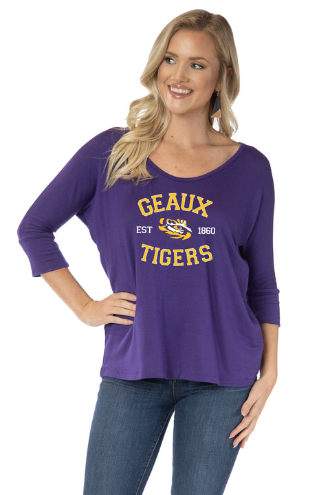 LSU Tigers Tamara Top