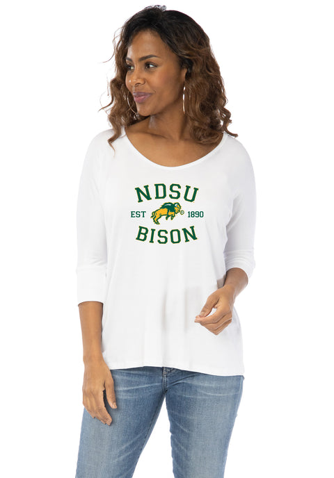 North Dakota State Bison Tamara Top