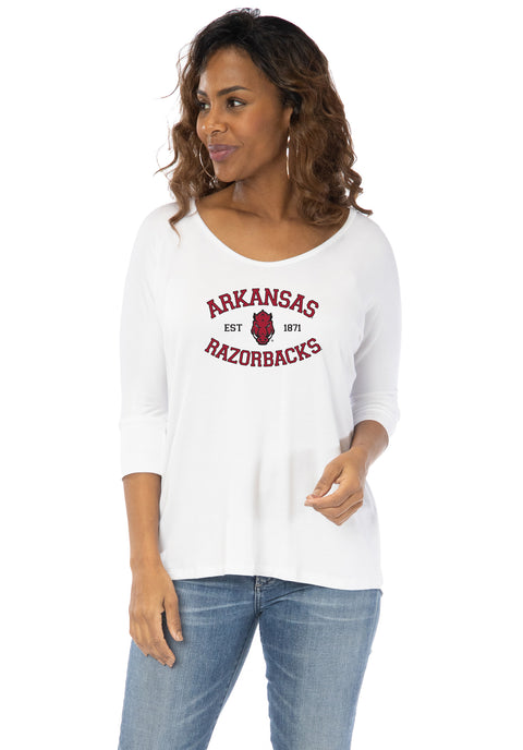 Arkansas Razorbacks Tamara Top