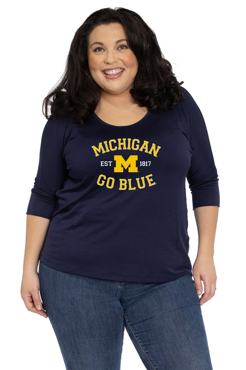 Michigan Wolverines Tamara Top