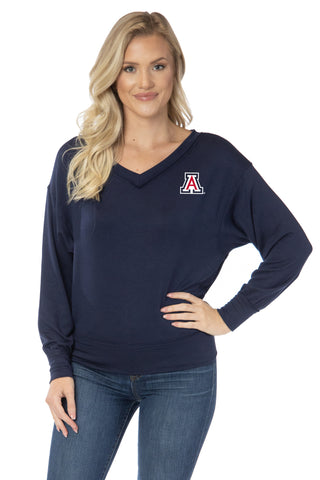 Arizona Wildcats Meredith V-Neck