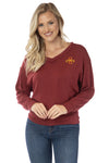 Iowa State Cyclones Meredith V-Neck