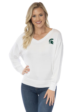 Michigan State Spartans Meredith V-Neck