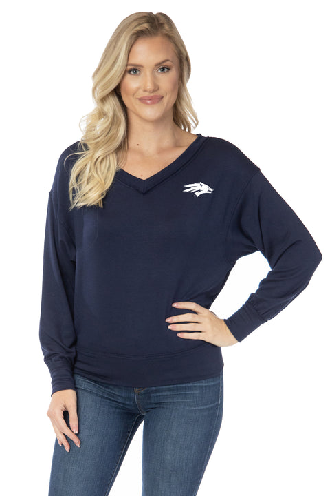 Nevada Wolf Pack Meredith V-Neck
