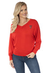 Texas Tech Red Raiders Meredith V-Neck