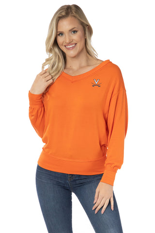 Virginia Cavaliers Meredith V-Neck