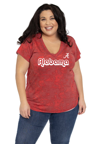 Alabama Crimson Tide Kelly V-Neck