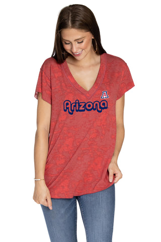 Arizona Wildcats Kelly V-Neck