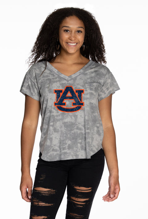 Auburn Tigers Kelly V-Neck