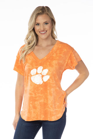 Clemson Tigers Kelly V-Neck