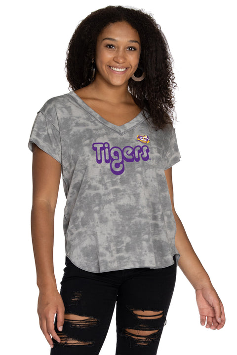 LSU Tigers Kelly V-Neck
