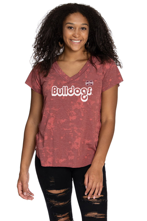 Mississippi State Bulldogs Kelly V-Neck