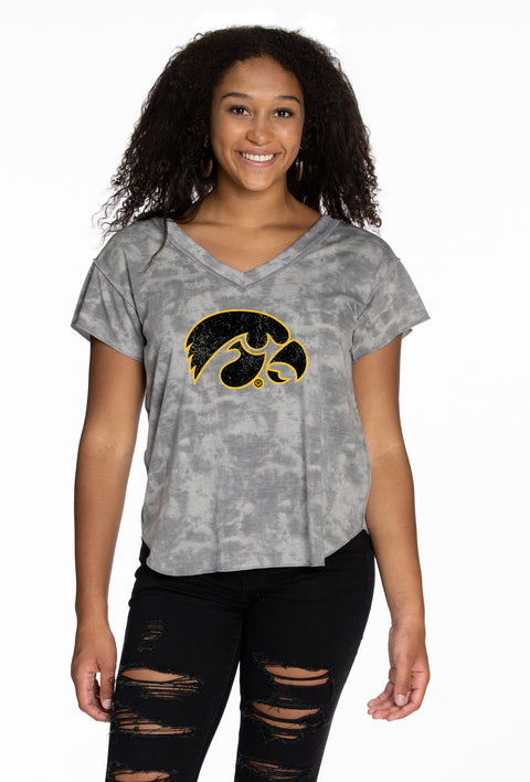 Iowa Hawkeyes Kelly V-Neck