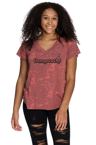 South Carolina Gamecocks Kelly V-Neck