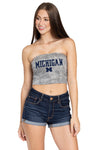 Michigan Wolverines Robin Tube Top
