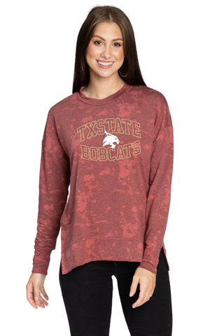 Texas State Bobcats Brandy Top