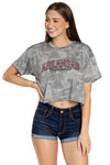 Arkansas Razorbacks Kimberly Crop Tee