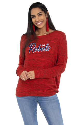 Ole Miss Rebels Valarie Top