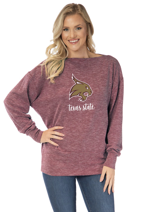 Texas State Bobcats Lainey Tunic