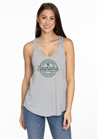 Michigan State Spartans Brenna Tank