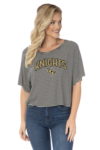 UCF Knights Emily Striped Tee