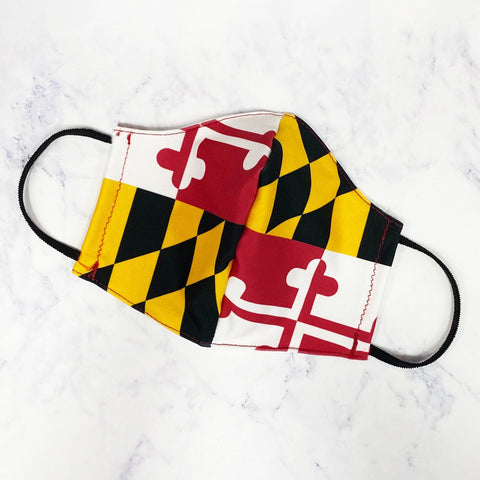 The Sierra Mask-Maryland Flag