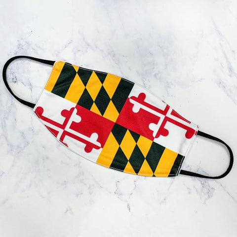 The Marlow Mask-Maryland Flag