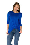 Lylah Twist Front Top