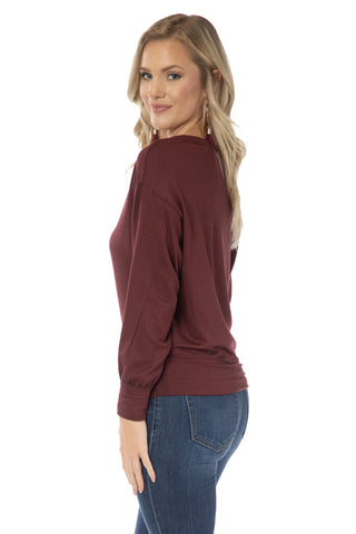 Virginia Tech Hokies Meredith V-Neck