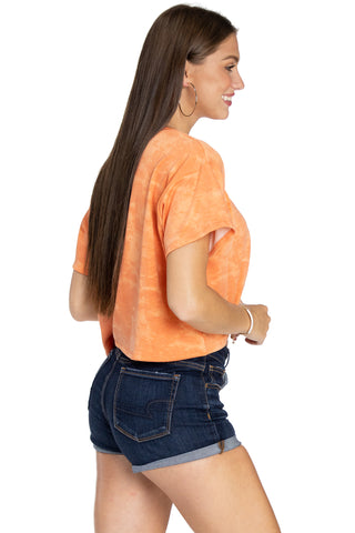 Auburn Tigers Kimberly Crop Tee