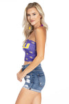 LSU Tigers Karlee Tube Top